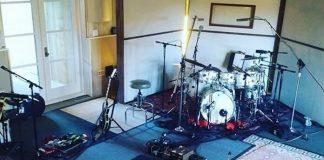 Smashing Pumpkins em estúdio