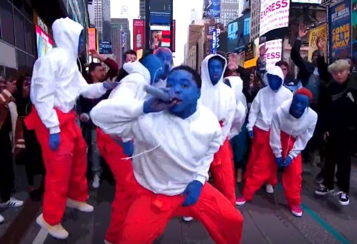 Brockhampton na Times Square