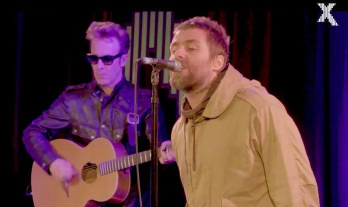 Liam Gallagher toca