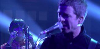 Noel Gallagher e Charlotte Marionneau, a tesourista