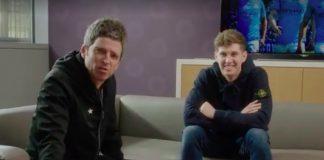 Noel Gallagher e John Stones, do Manchester City