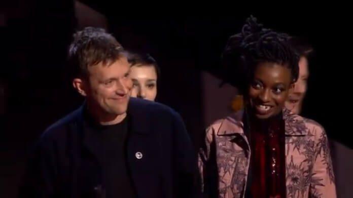 Damon Albarn no BRIT Awards 2018