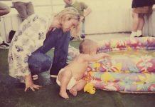 Kurt Cobain e Frances Bean