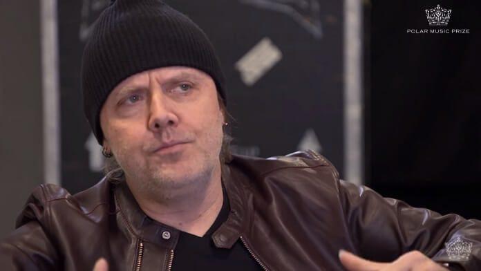 Lars Ulrich no Polar Prize