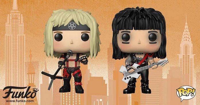 Bonecos Funko do Mötley Crüe