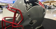 Capacete do New England Patriots