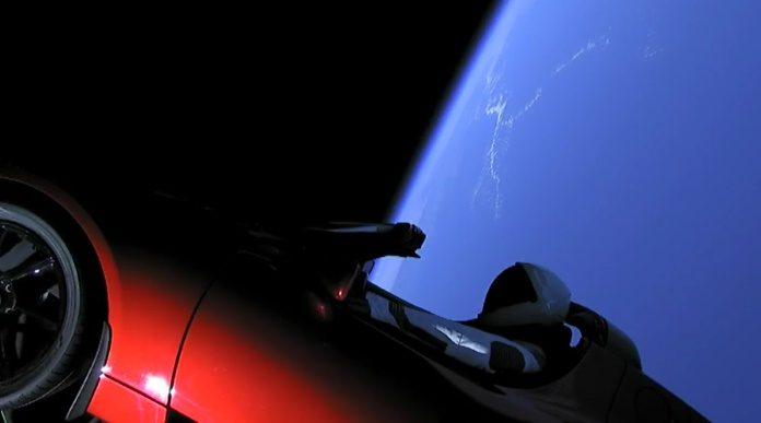Carro da Tesla está indo para Marte