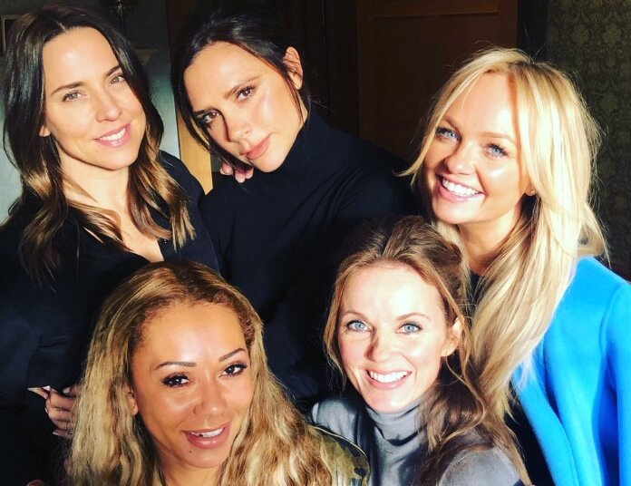 Victoria partilha fotografia das Spice Girls. Regresso (milionário) à vista