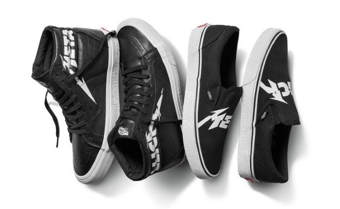 Novos tênis VANS do Metallica