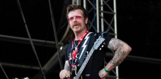 Jesse Hughes, do Eagles Of Death Metal