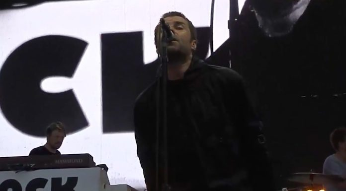 Liam Gallagher no Lollapalooza Argentina