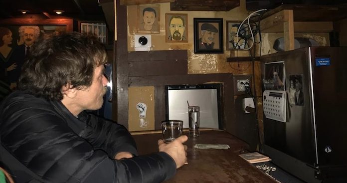 Michael Shannon assistindo ao Oscar 2018