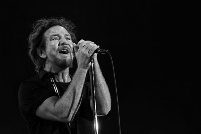 Eddie Vedder Pearl Jam no Lollapalooza Brasil