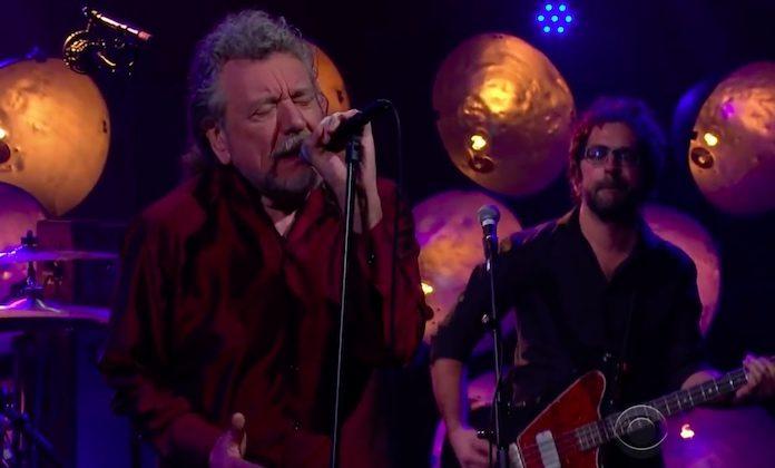 Robert Plant na TV americana