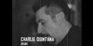 Charlie Quintana com o Social Distortion