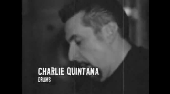 Charlie Quintana com o Social Distortion