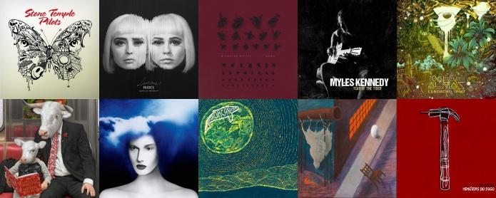 Discos lançados em Março de 2018