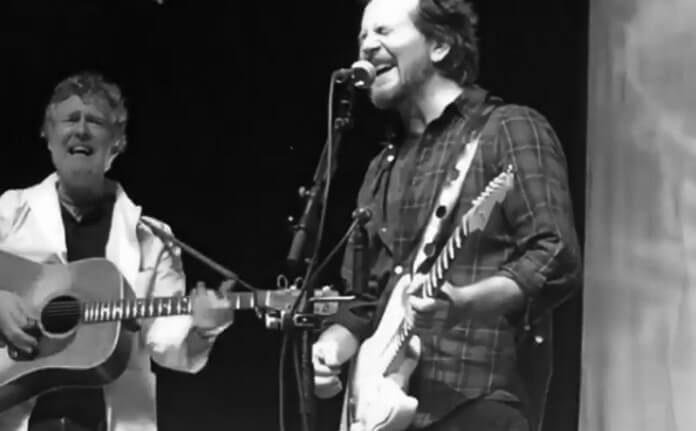 Eddie Vedder em SP no dia 28 de Março