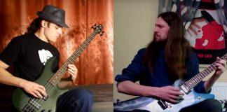 Baixo e guitarra de músicas do Metallica trocados