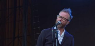 The National no Lollapalooza Chile 2018