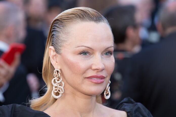 Pamela Anderson em 2017
