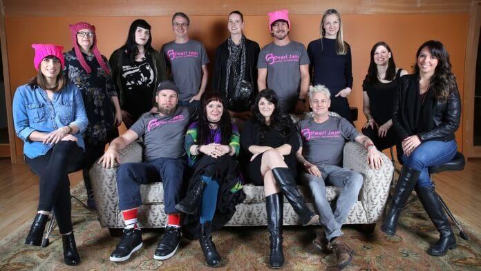 Pearl Jam no Dia Internacional da Mulher
