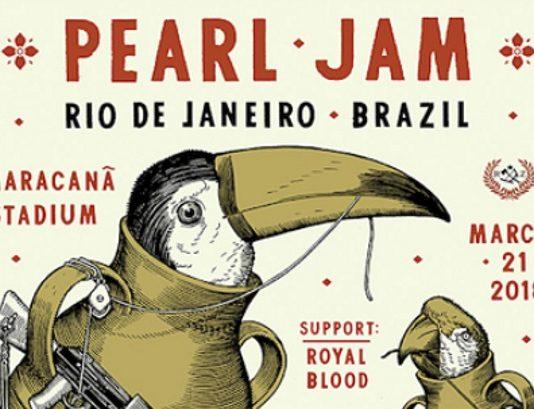 Pearl Jam no Rio de Janeiro