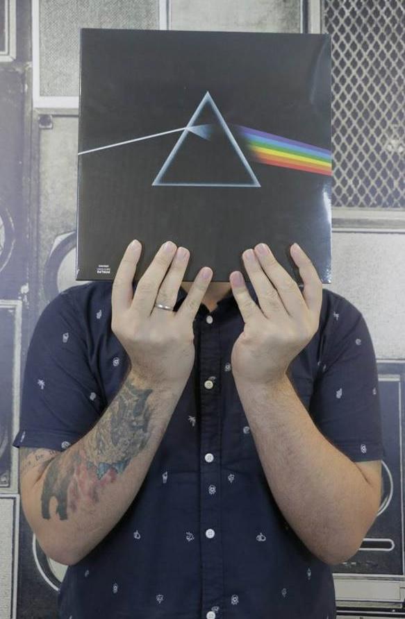 Disco de Dark Side Of The Moon, do Pink Floyd