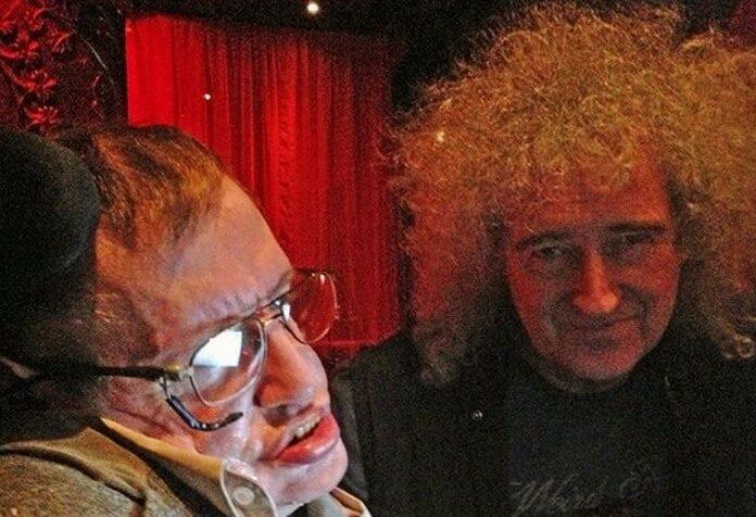 Stephen Hawking e Brian May