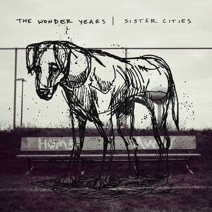 "capa do disco ""sister cities"" do the wonder years"