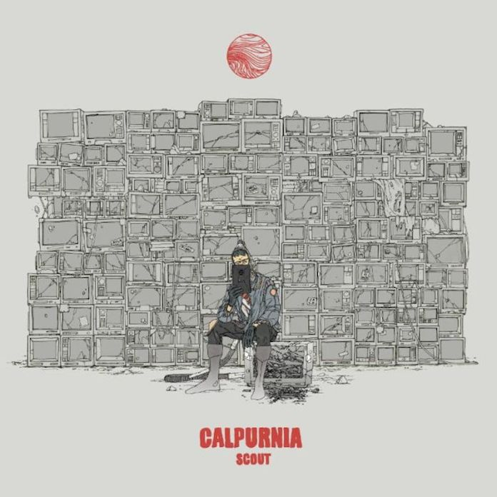 Calpurnia - Scott EP capa