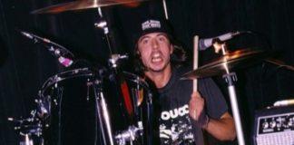 Dave Grohl com o Nirvana
