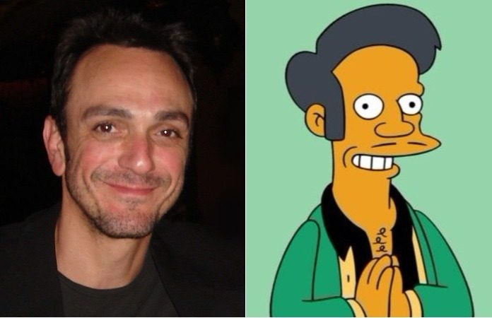 Hank Azaria e Apu Simpsons