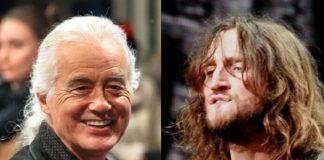 Jimmy Page e John Frusciante