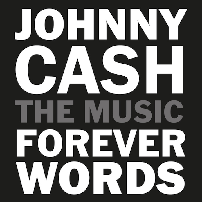 Johnny Cash - Forever Words capa