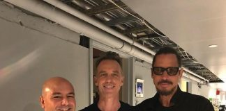 Matt Cameron e Chris Cornell, 2017