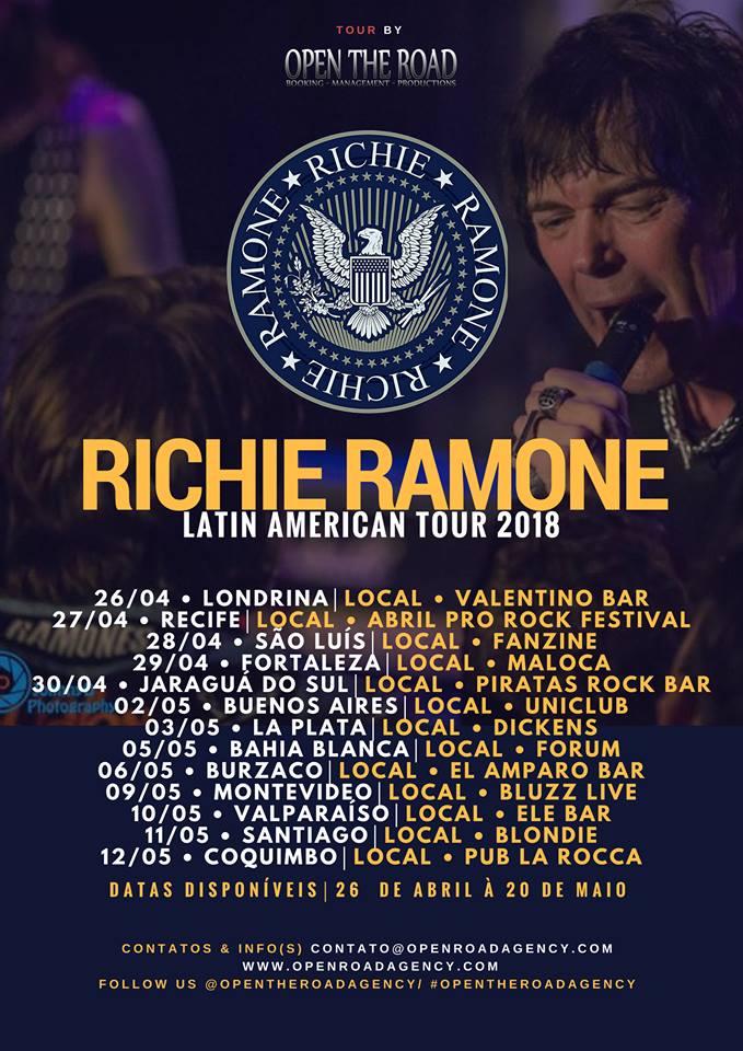 Richie Ramone no Brasil