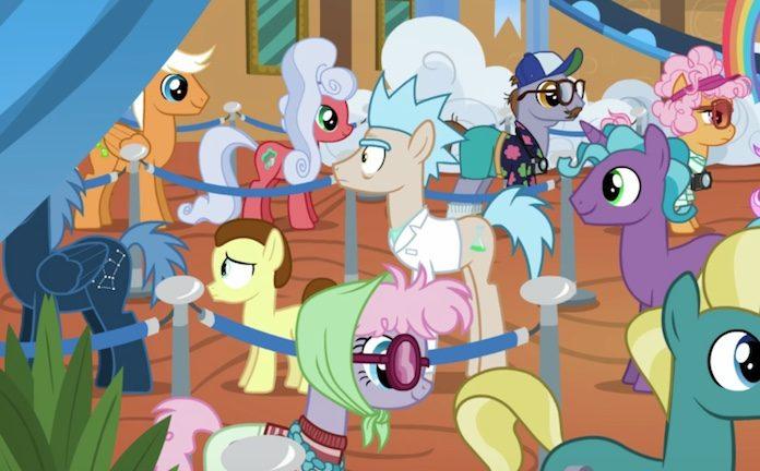 Rick and Morty em My Little Pony