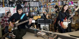 The Breeders no Tiny Desk, da NPR