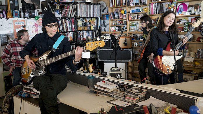 The Breeders no Tiny Desk, da NPR
