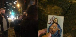 Thom Yorke autografando o próprio meme