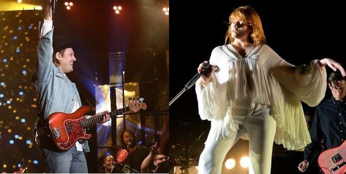 Arcade Fire e Florence Welch