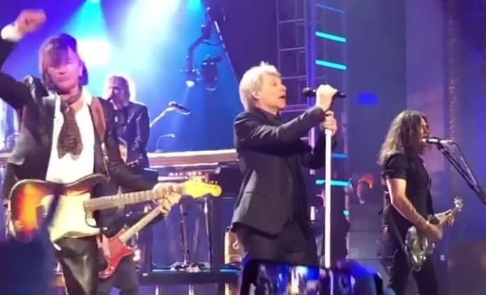 Bon Jovi no Hall da Fama do Rock And Roll, 2018