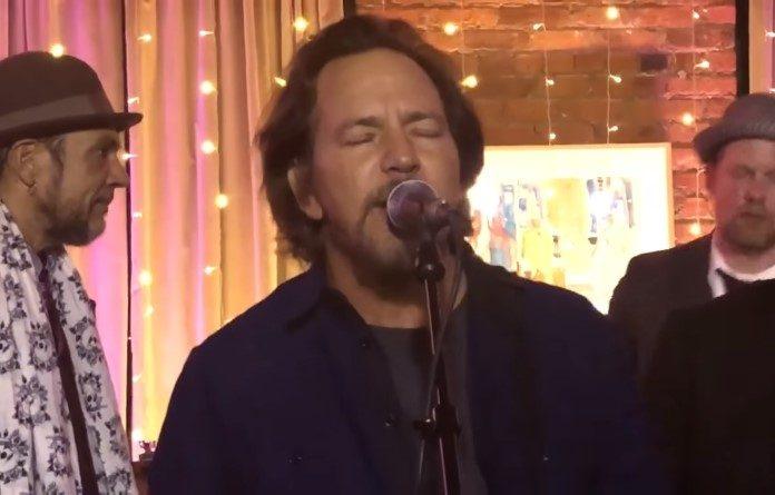 Eddie Vedder em 2018