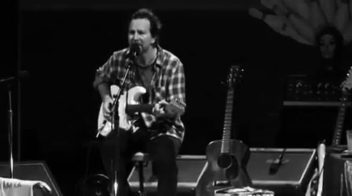 Eddie Vedder em São Paulo (30 de Março)
