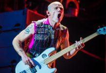 Flea, do Red Hot Chili Peppers, na Alemanha em 2016