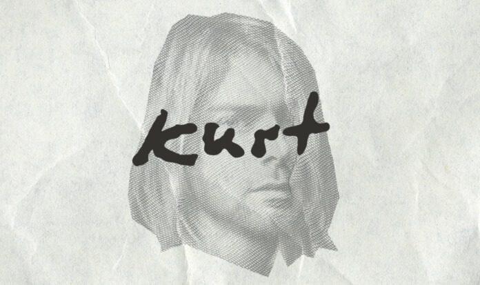 Fonte inspirada na letra de Kurt Cobain