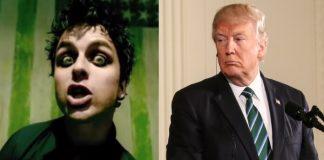 Green Day e Donald Trump