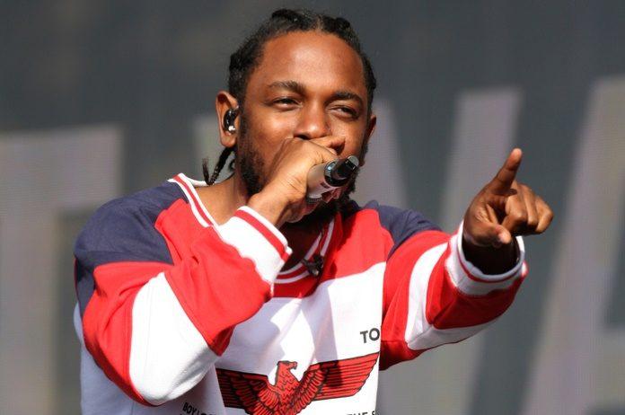 Kendrick Lamar em Londres, 2016