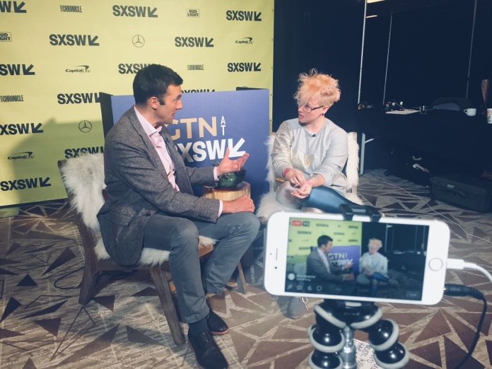 Labaq dá entrevista no SXSW